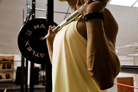 Sport Gewichtheffen
